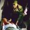 Giận vợ, đâm trọng thương Trung úy cảnh sát ngày Valentine