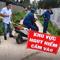 Phát hiện quả bom dài 1,5m trong vườn của người dân