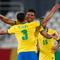 Brazil ngược dòng ăn may nhờ trọng tài ở trận cầu 100 phút