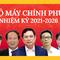 Infographic: Chân dung 27 thành viên chính phủ nhiệm kỳ 2021-2026