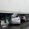 Ô tô lọt gầm container, hai người chết