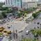 Mục kích tiến độ thi công đường hoa Nguyễn Huệ 2017