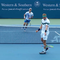 Cận cảnh Djokovic tung cú smash quất bay vợt đối thủ