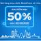 MobiFone khuyến mại 50% dành riêng cho khách hàng tại TP.HCM