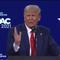 Video màn phát biểu tái xuất ấn tượng của ông Trump
