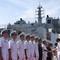 2 tàu Hải quân Ấn Độ luyện tập chung với Hải quân Việt Nam