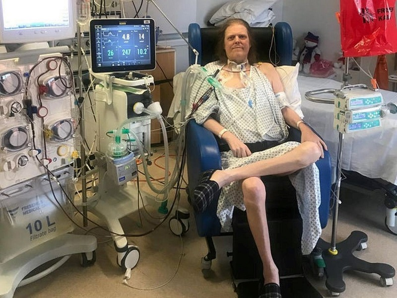 Bệnh nhân ''bỏ cuộc'' sau 445 ngày nằm viện vì COVID-19