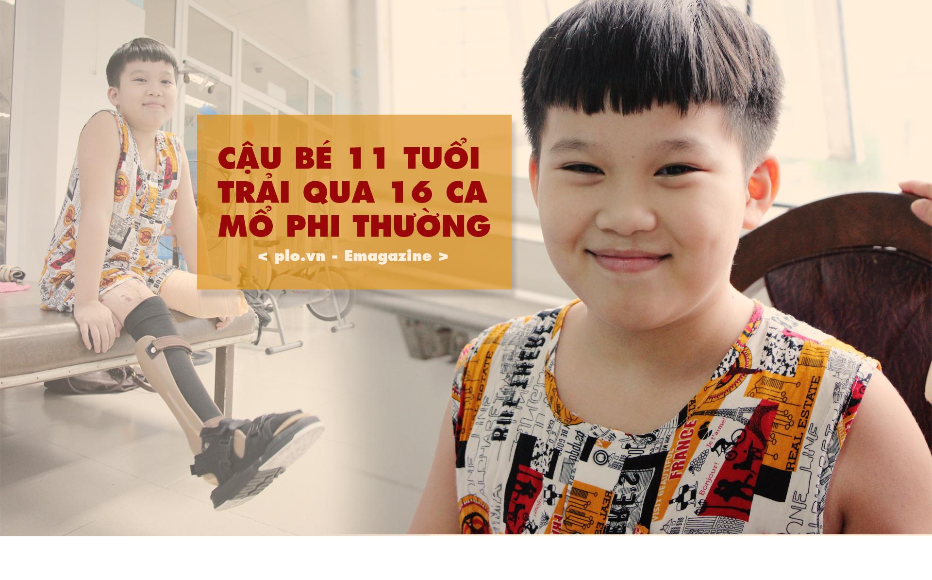Nghị lực phi thường của Phan Hà Nhật Huy