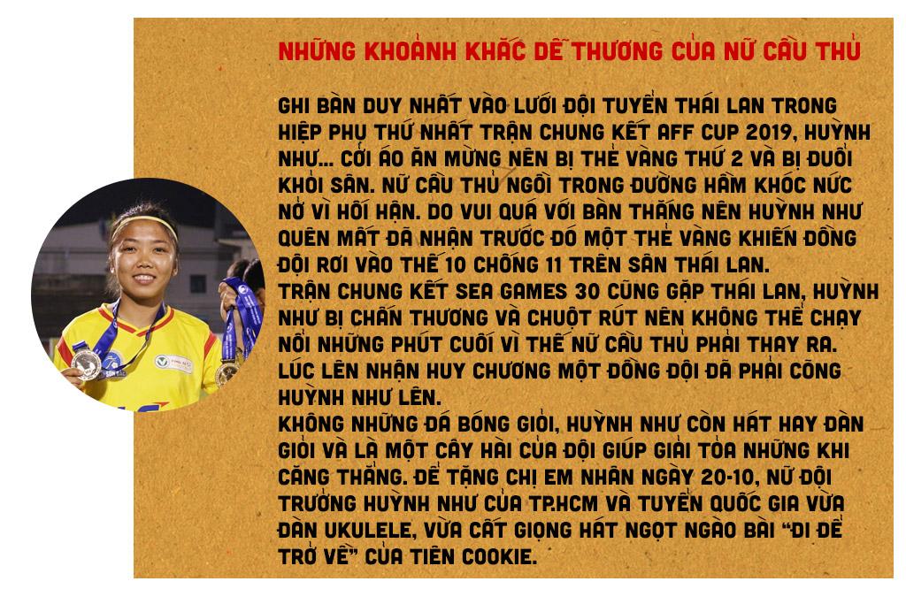 Nữ cầu thủ Huỳnh Như: Bóng đá là tình yêu của tôi - ảnh 7