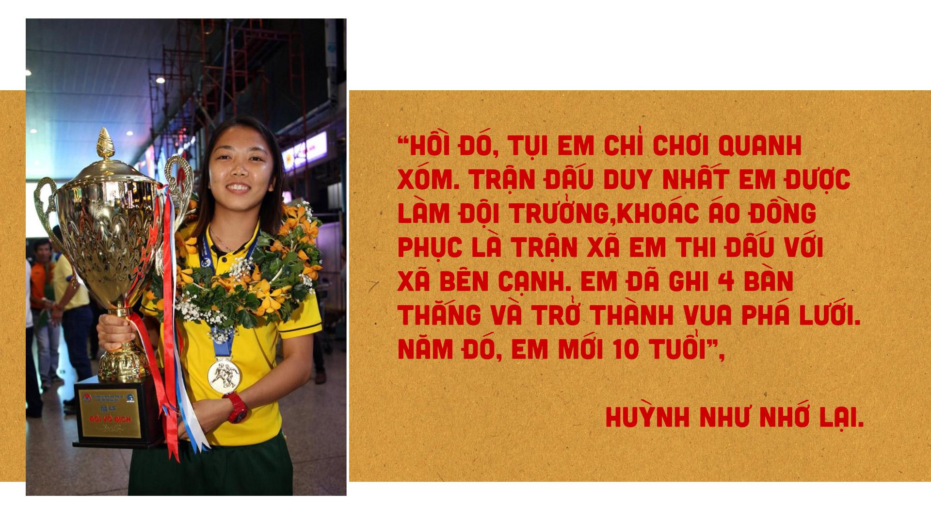 Nữ cầu thủ Huỳnh Như: Bóng đá là tình yêu của tôi - ảnh 2