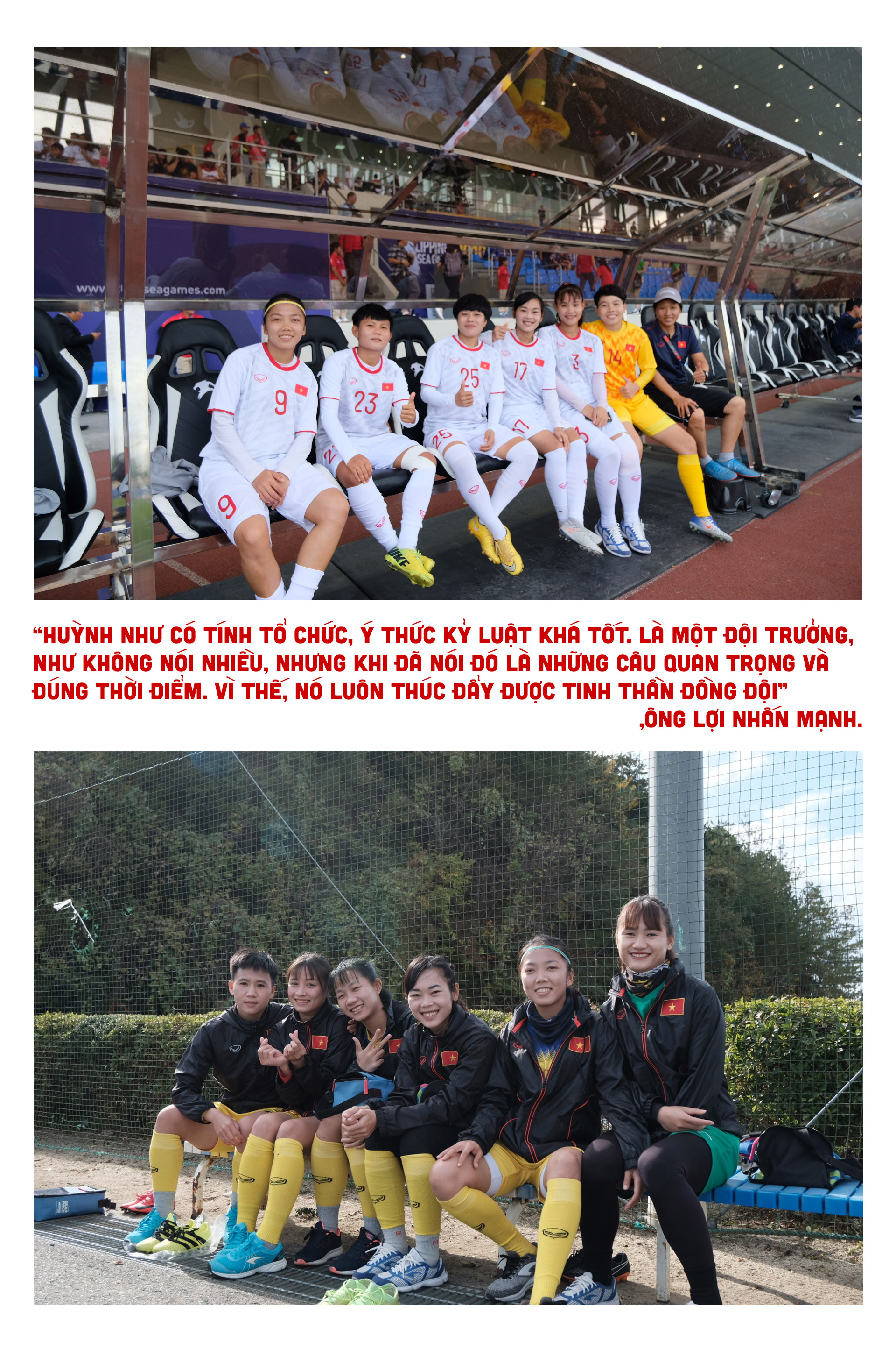 Nữ cầu thủ Huỳnh Như: Bóng đá là tình yêu của tôi - ảnh 6