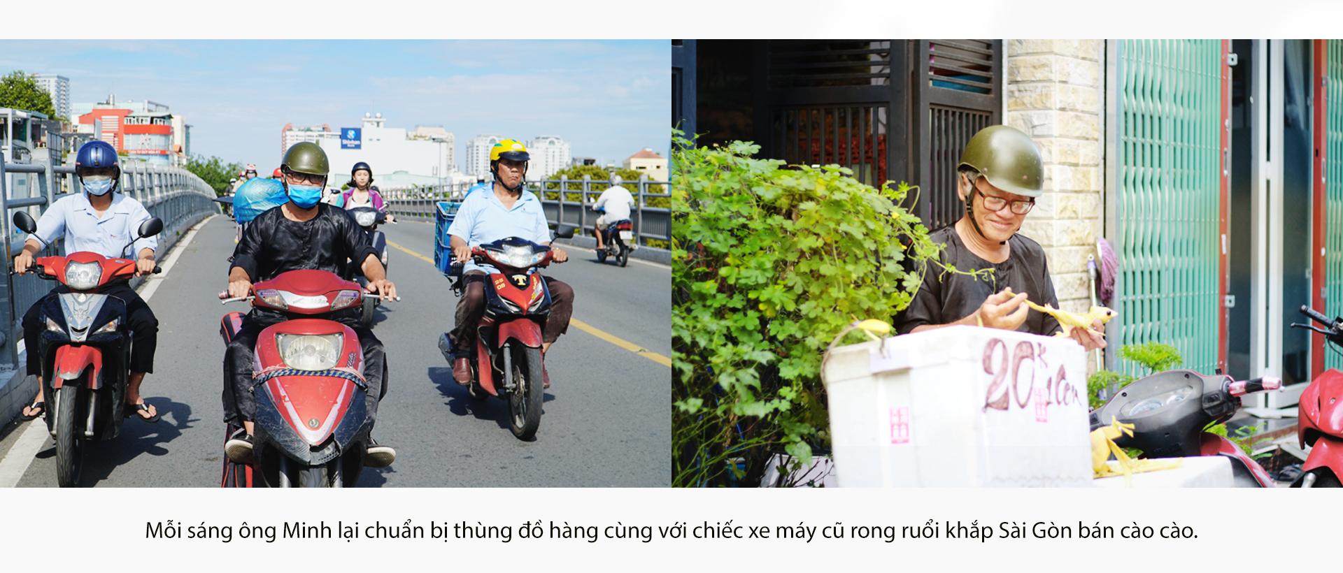 Họa sĩ già bán cào cào chở tuổi thơ đi khắp Sài Gòn - ảnh 3