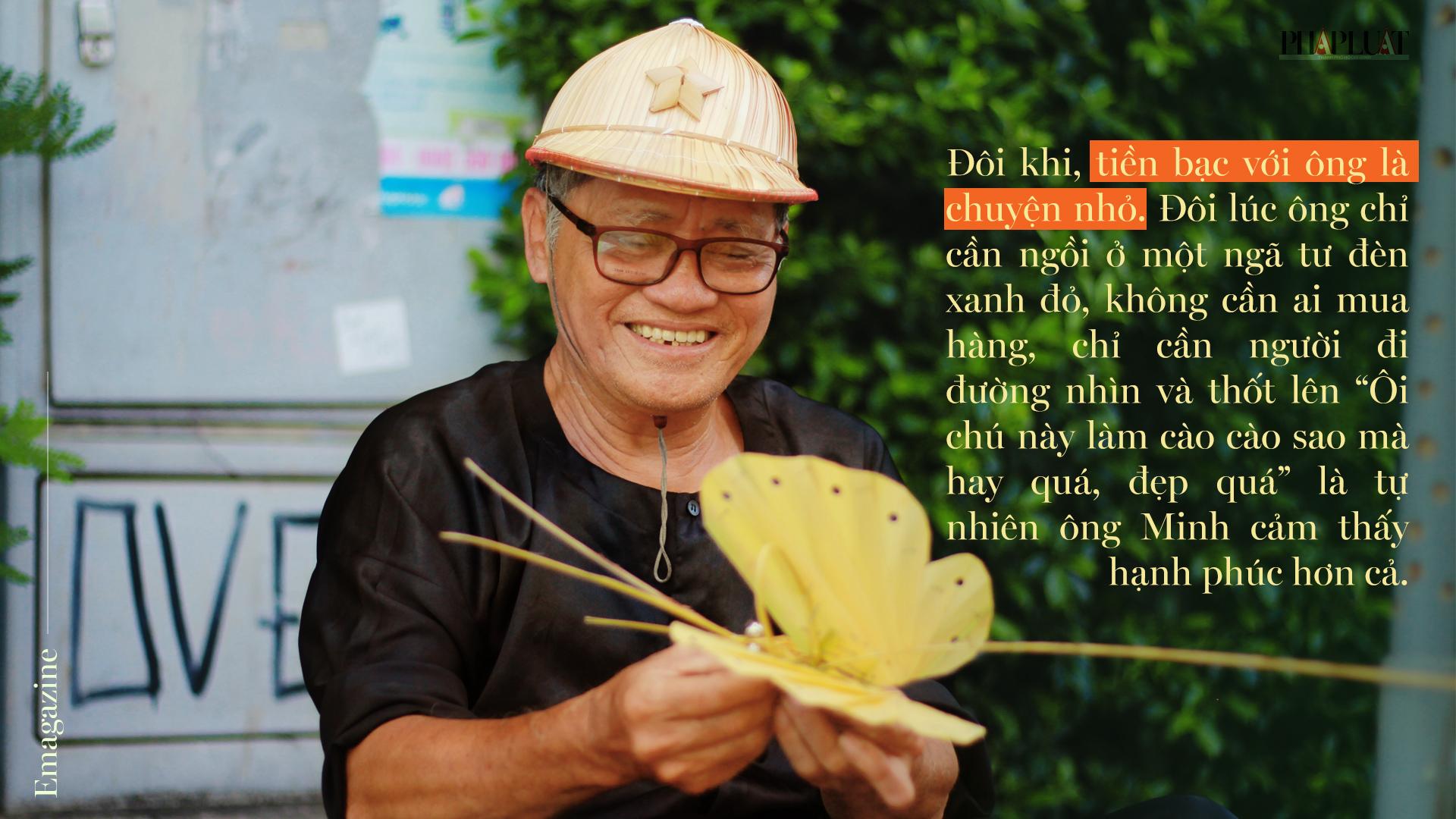 Họa sĩ già bán cào cào chở tuổi thơ đi khắp Sài Gòn - ảnh 8