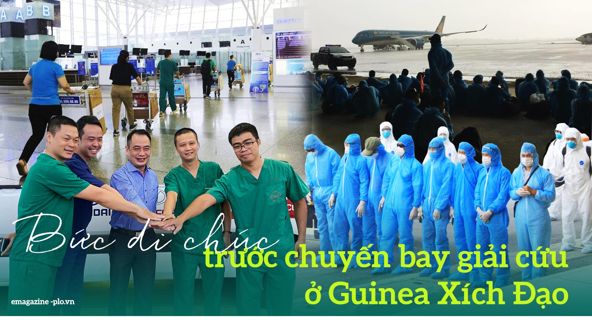 Bức di chúc trước chuyến bay giải cứu ở Guinea Xích Đạo