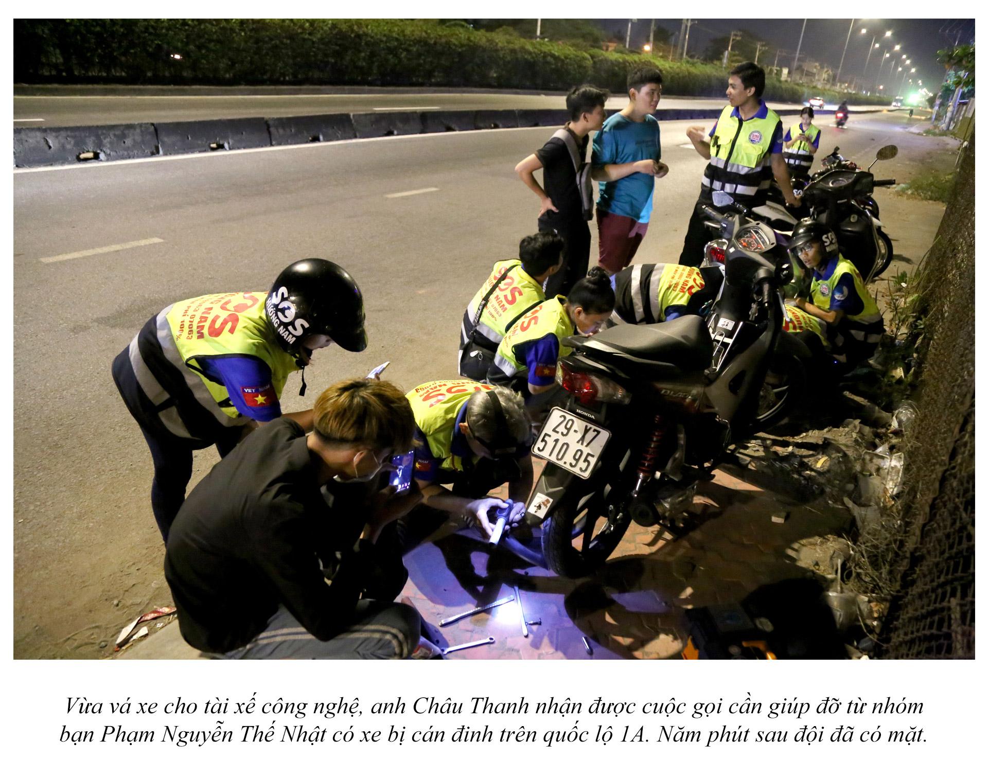 Biệt đội cứu hộ xuyên đêm miễn phí ở Sài Gòn - ảnh 18