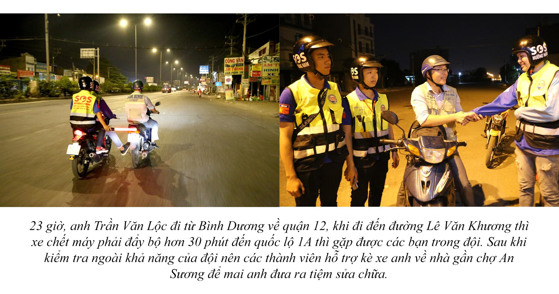 Biệt đội cứu hộ xuyên đêm miễn phí ở Sài Gòn - ảnh 14