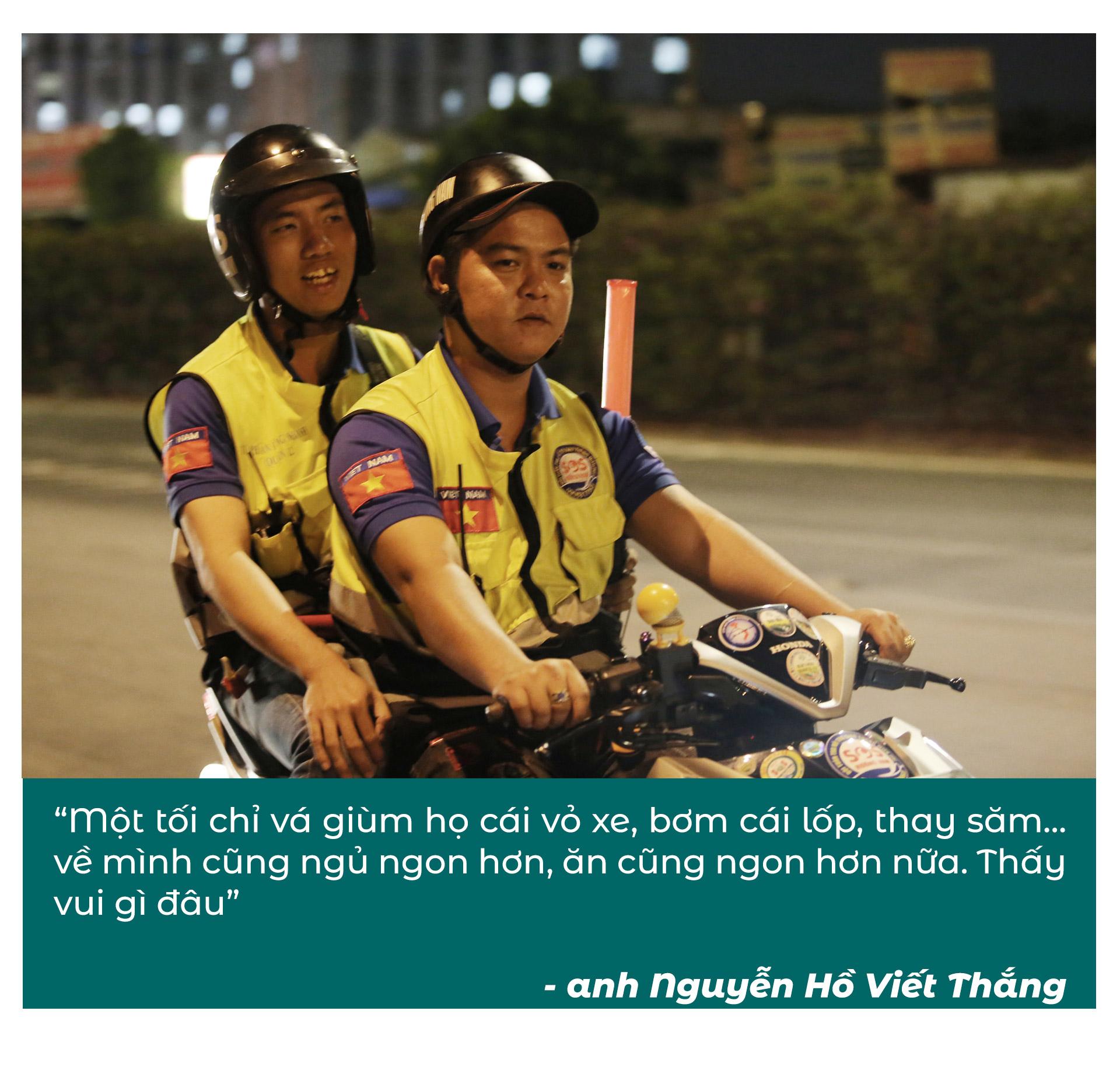 Biệt đội cứu hộ xuyên đêm miễn phí ở Sài Gòn - ảnh 13