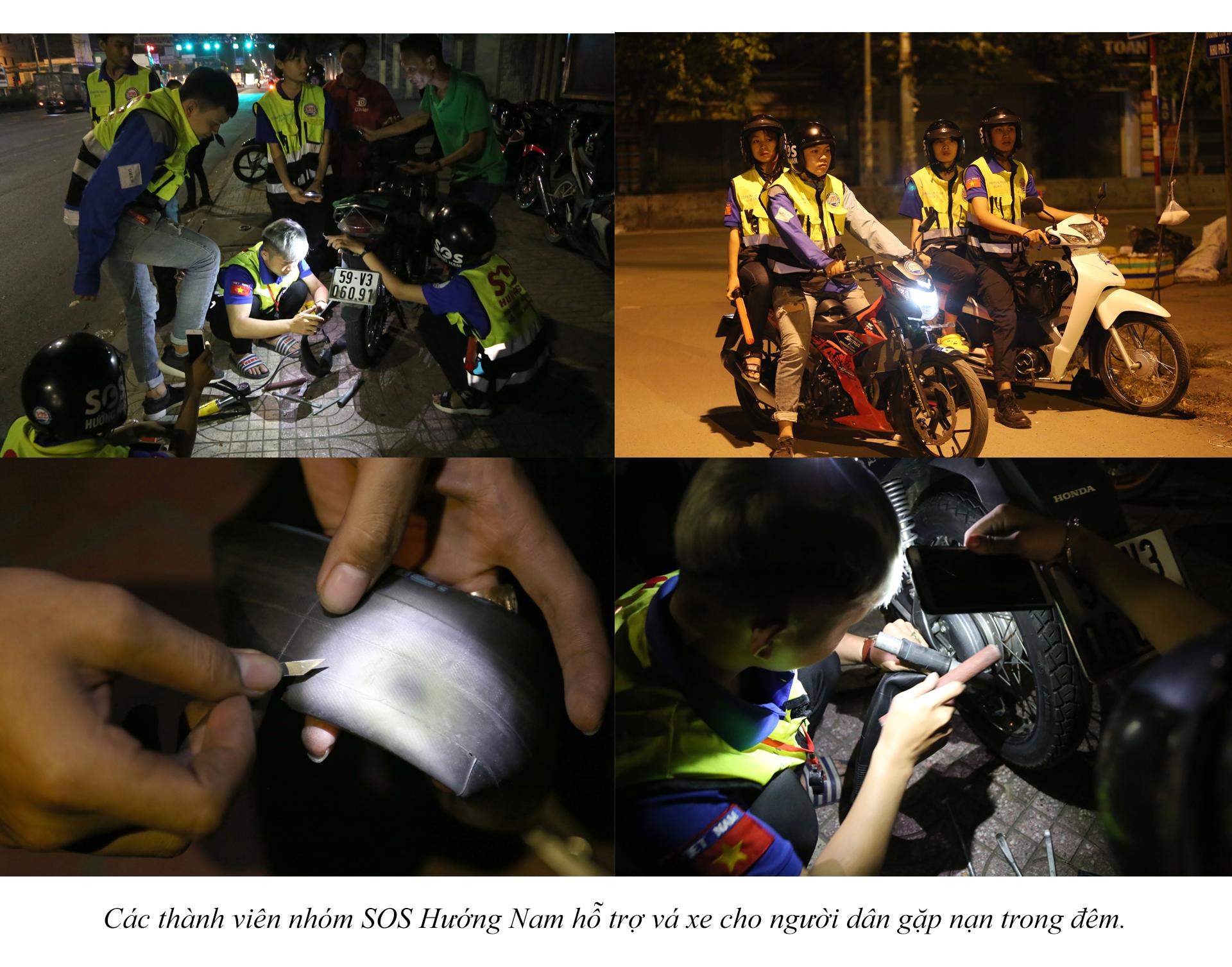 Biệt đội cứu hộ xuyên đêm miễn phí ở Sài Gòn - ảnh 22