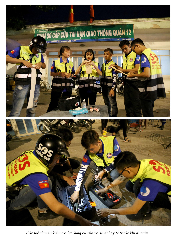 Biệt đội cứu hộ xuyên đêm miễn phí ở Sài Gòn - ảnh 7