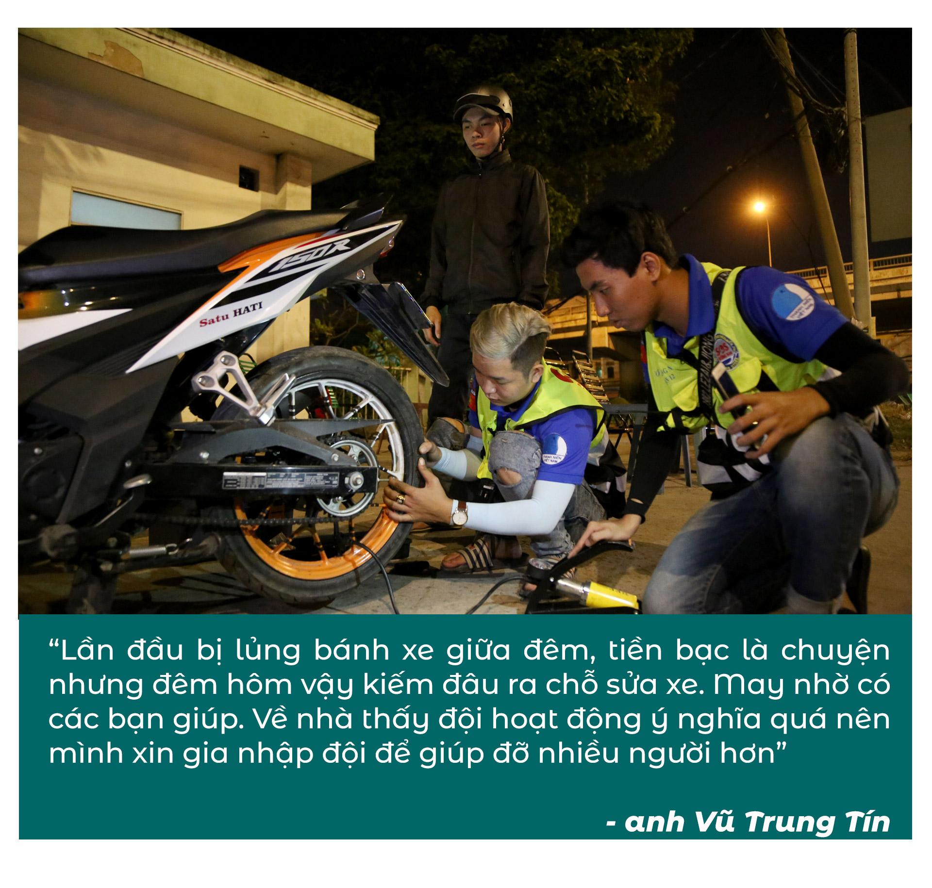 Biệt đội cứu hộ xuyên đêm miễn phí ở Sài Gòn - ảnh 3