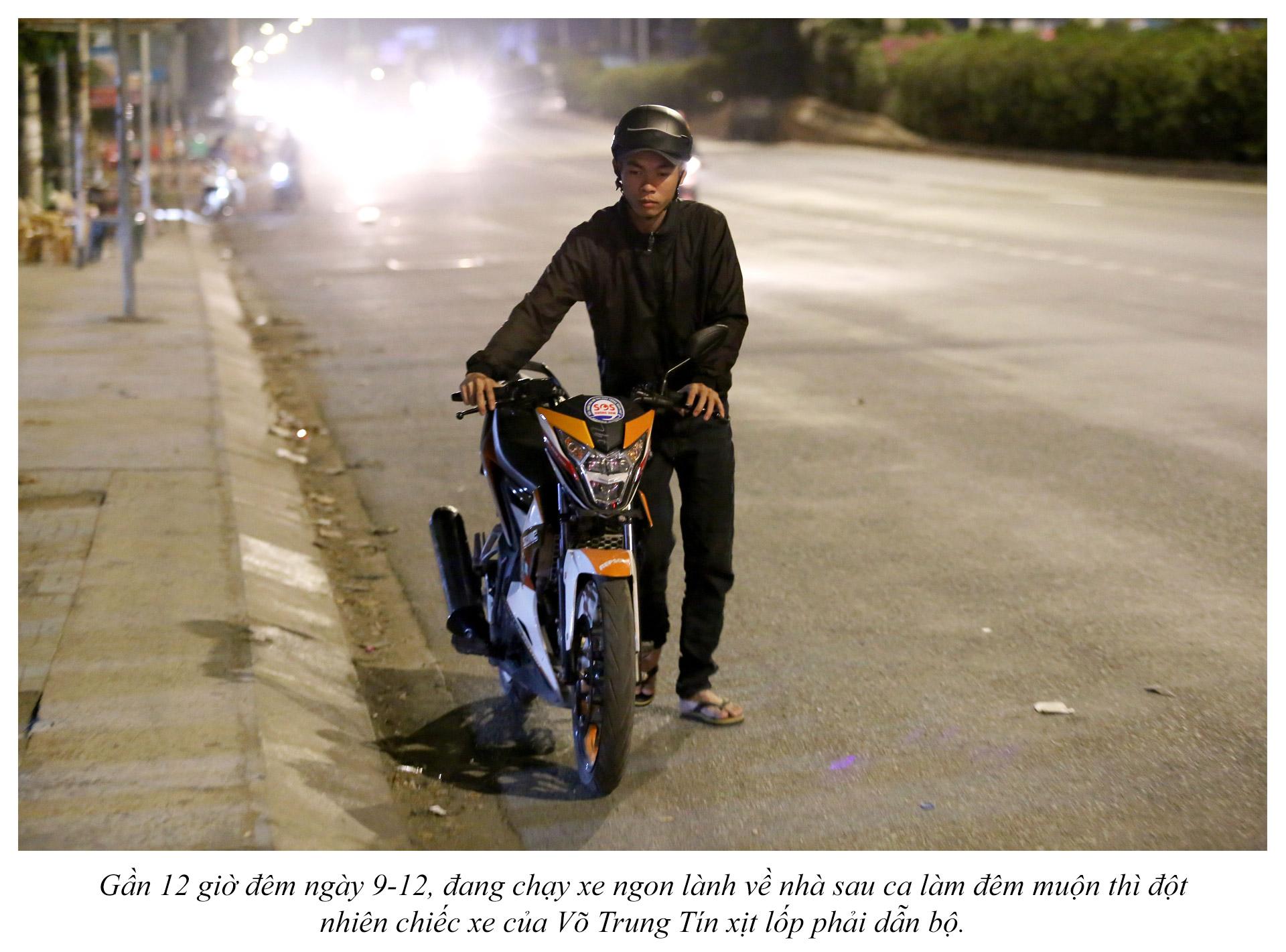 Biệt đội cứu hộ xuyên đêm miễn phí ở Sài Gòn - ảnh 2