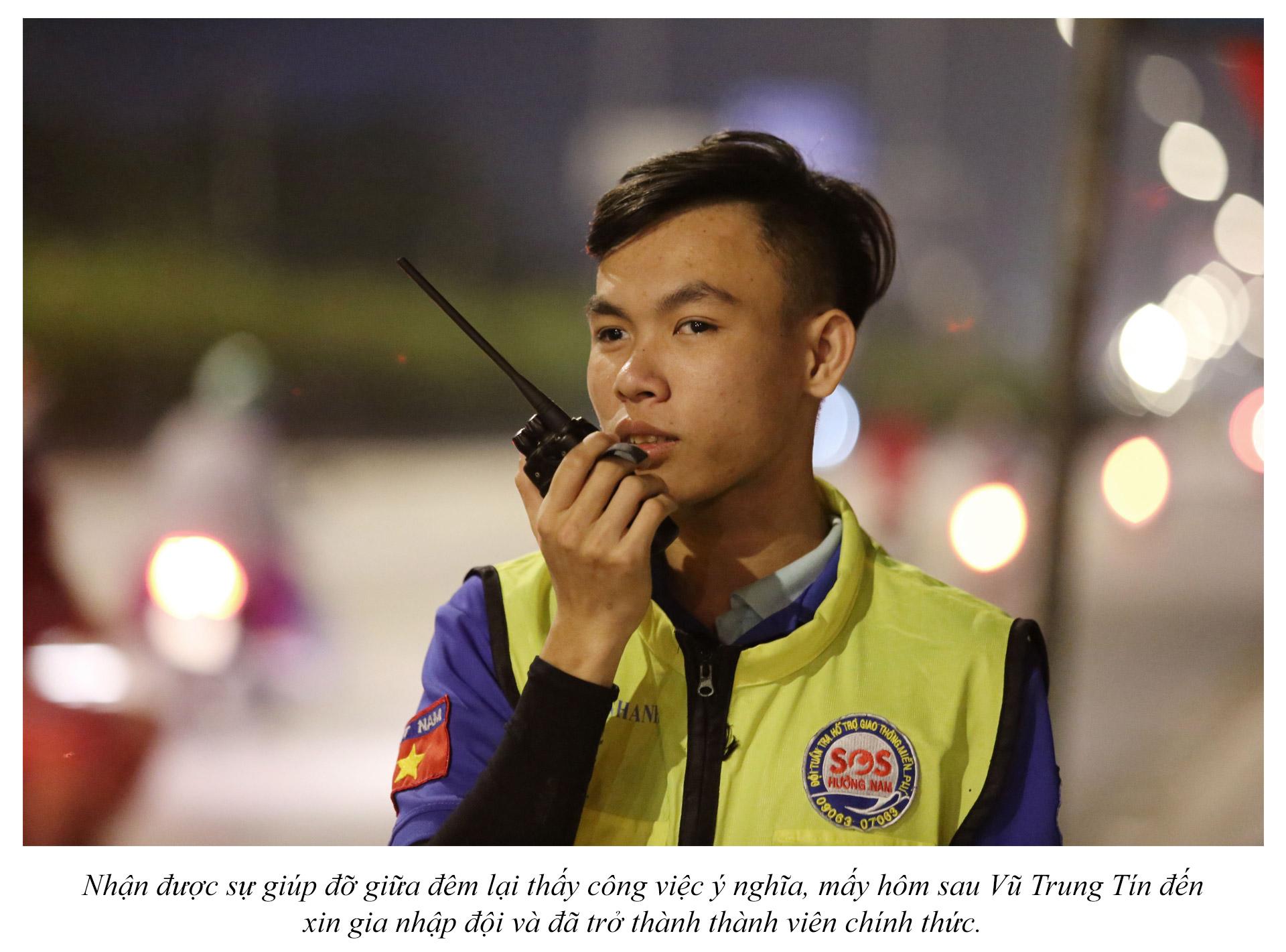 Biệt đội cứu hộ xuyên đêm miễn phí ở Sài Gòn - ảnh 4