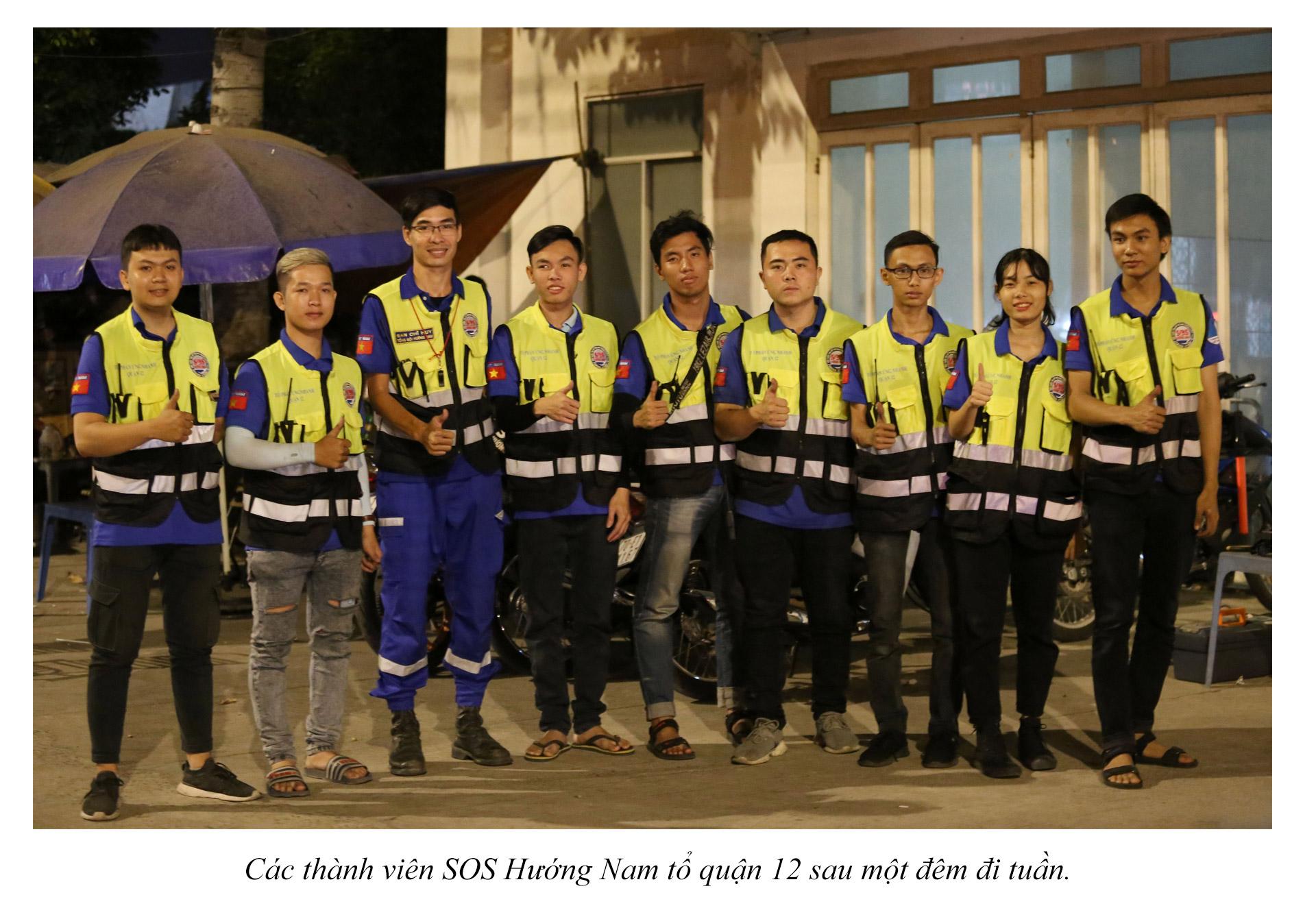 Biệt đội cứu hộ xuyên đêm miễn phí ở Sài Gòn - ảnh 23