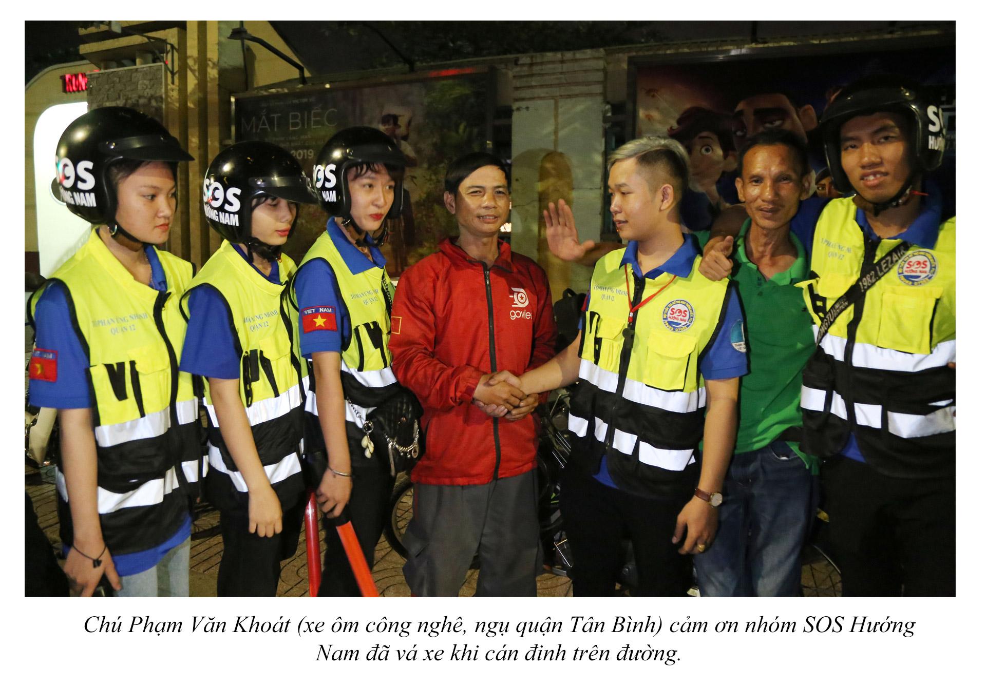 Biệt đội cứu hộ xuyên đêm miễn phí ở Sài Gòn - ảnh 17