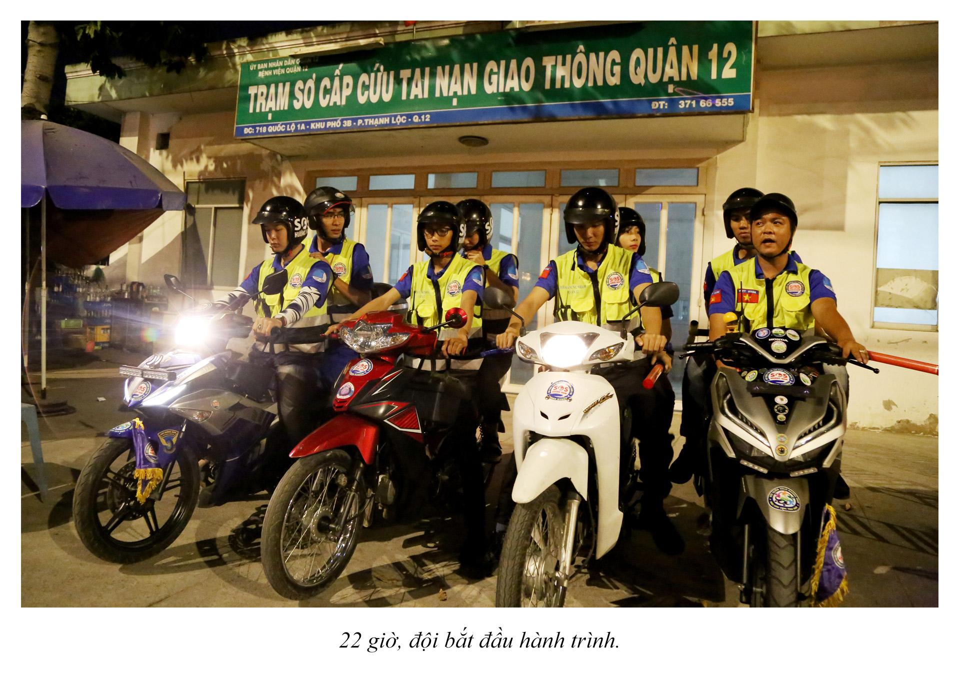 Biệt đội cứu hộ xuyên đêm miễn phí ở Sài Gòn - ảnh 10