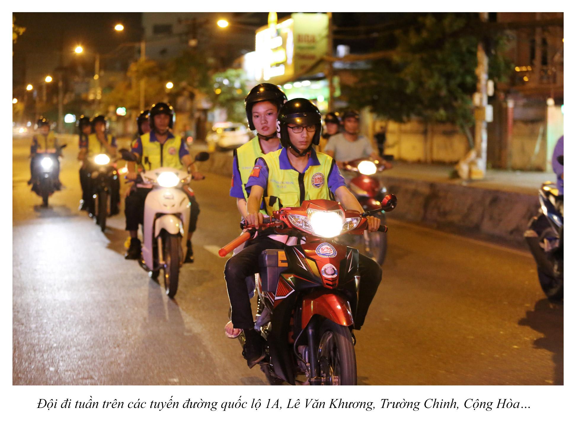 Biệt đội cứu hộ xuyên đêm miễn phí ở Sài Gòn - ảnh 11