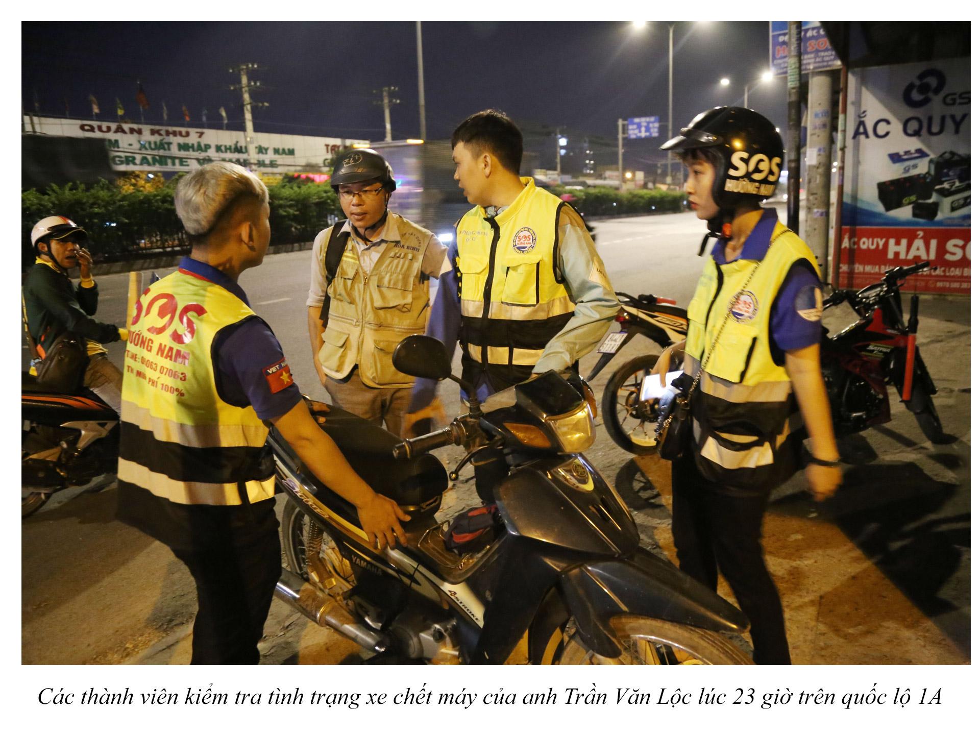 Biệt đội cứu hộ xuyên đêm miễn phí ở Sài Gòn - ảnh 12