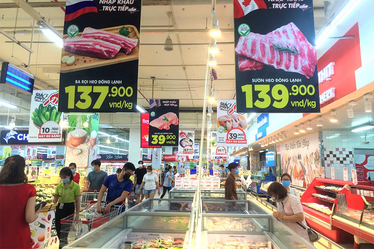 Thịt, dầu ăn, đường… rủ nhau tăng giá