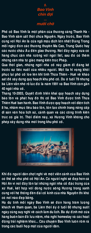 Bao Vinh: Cuộc 'tháo chạy' khỏi phố cổ - ảnh 2