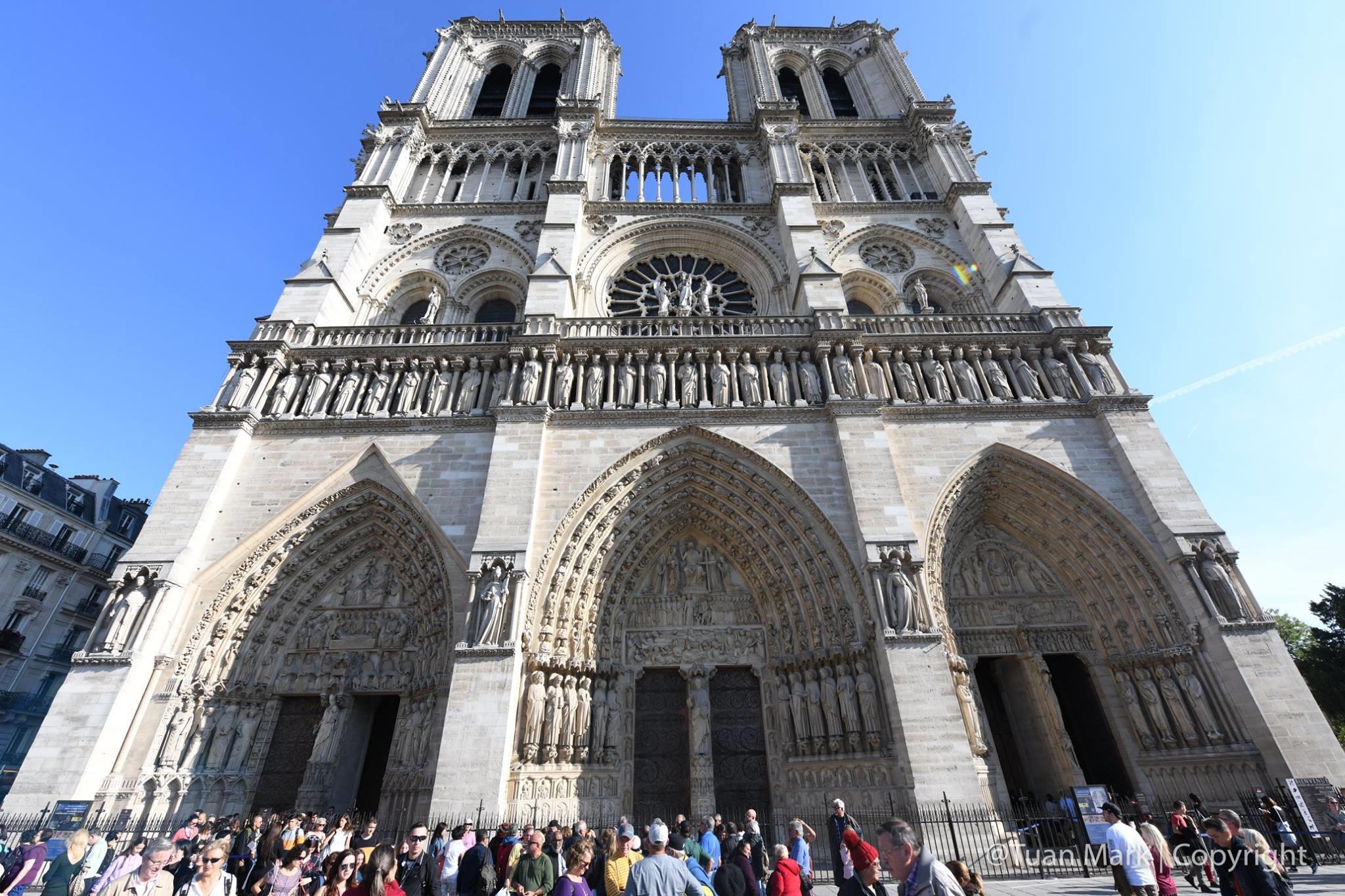Nhà thờ Đức Bà Paris: Từ tro tàn đến hi vọng - ảnh 2