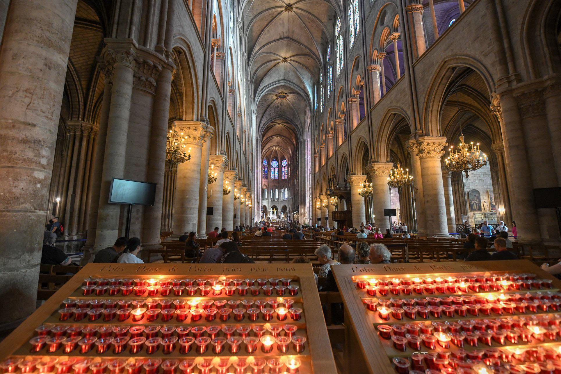 Nhà thờ Đức Bà Paris: Từ tro tàn đến hi vọng - ảnh 4