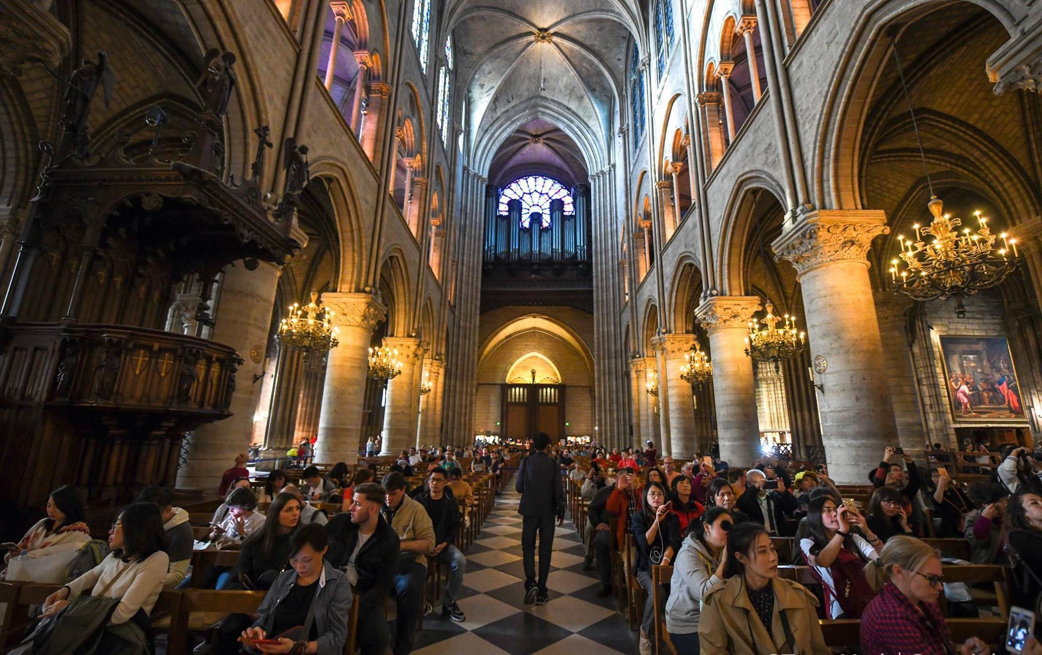 Nhà thờ Đức Bà Paris: Từ tro tàn đến hi vọng - ảnh 6