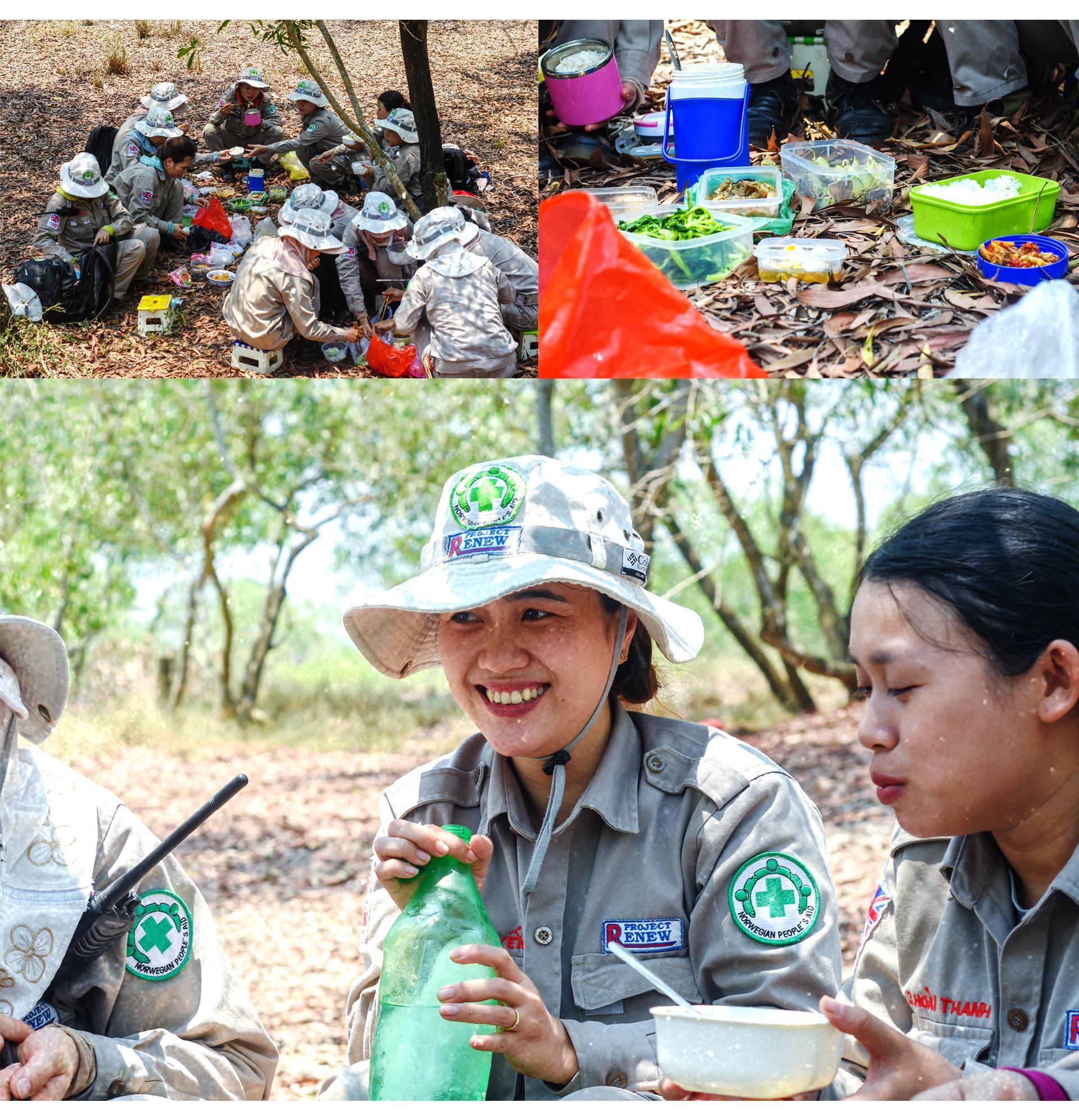 Đội nữ rà phá bom, mìn vùng 'đất lửa' Quảng Trị - ảnh 2