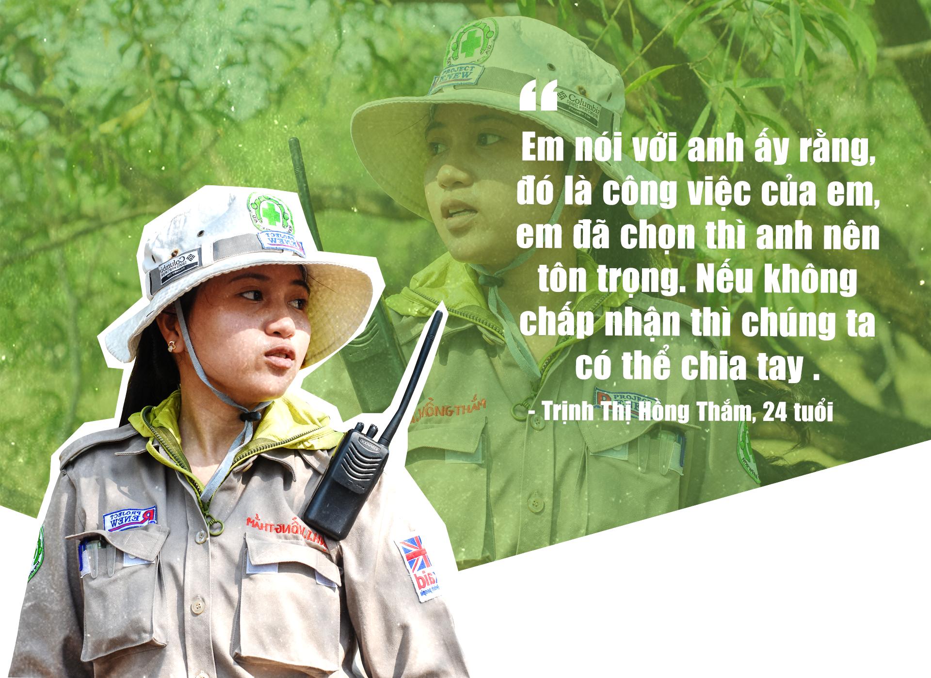 Đội nữ rà phá bom, mìn vùng 'đất lửa' Quảng Trị - ảnh 4