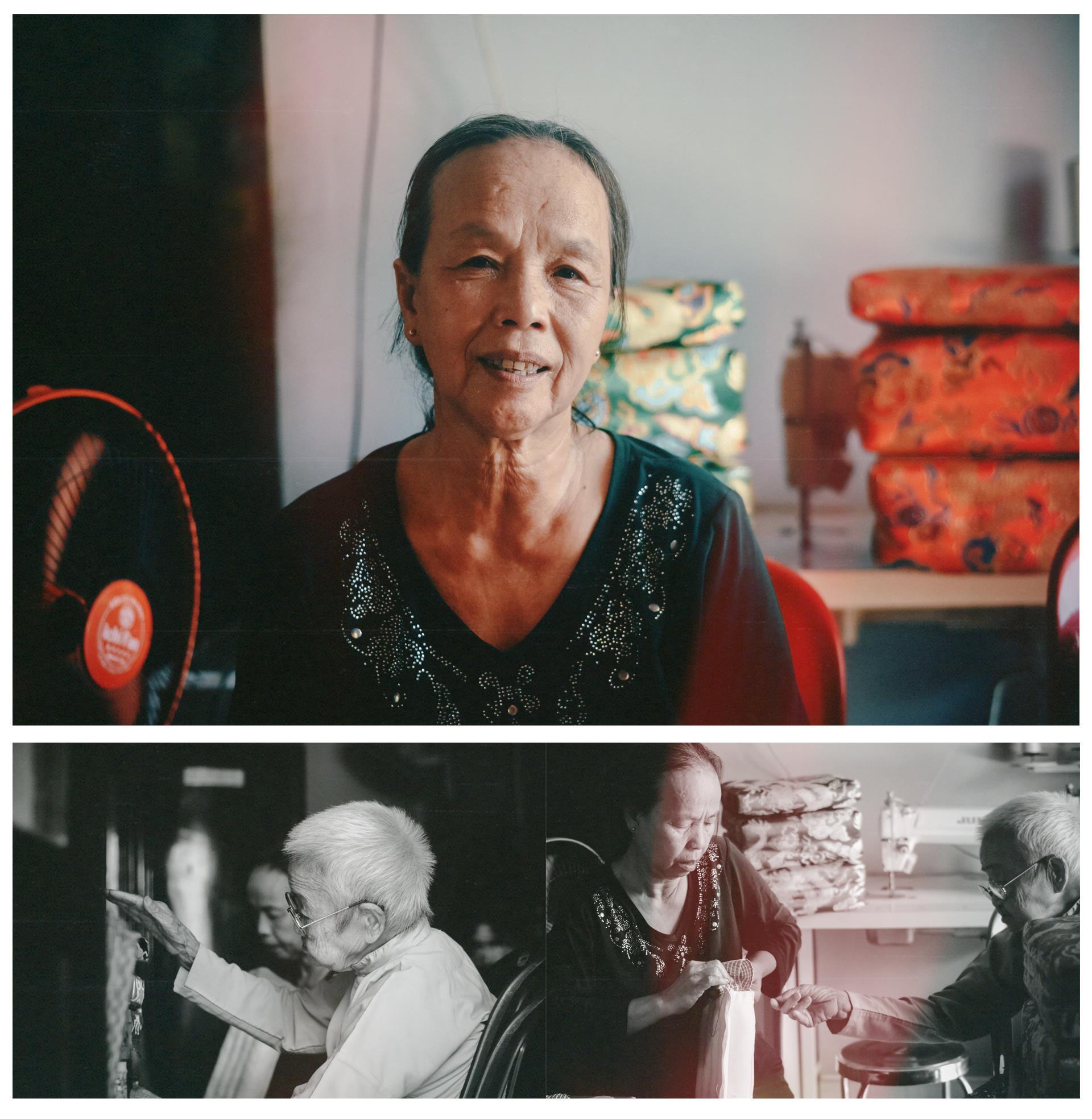 Cụ bà gần 100 năm lưu giữ nghề may gối cung đình Huế - ảnh 9