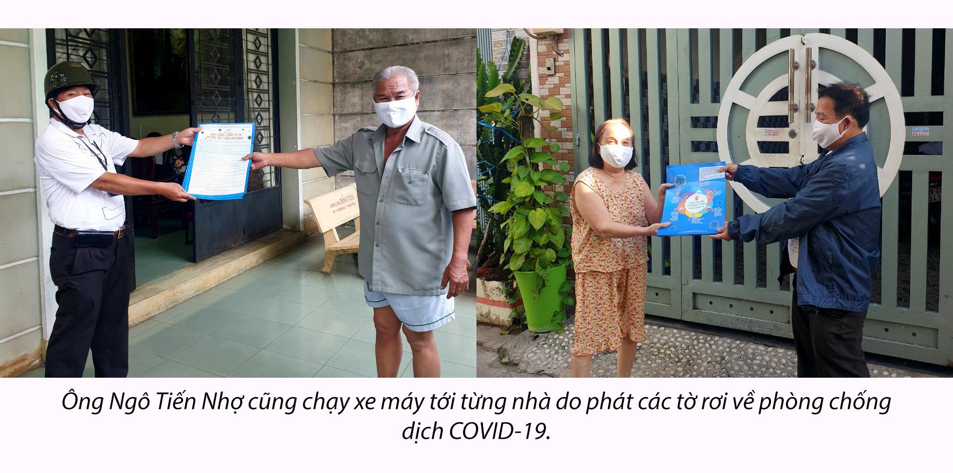 Cuộc chiến chống COVID-19: Trải lòng của cán bộ khu phố - ảnh 14