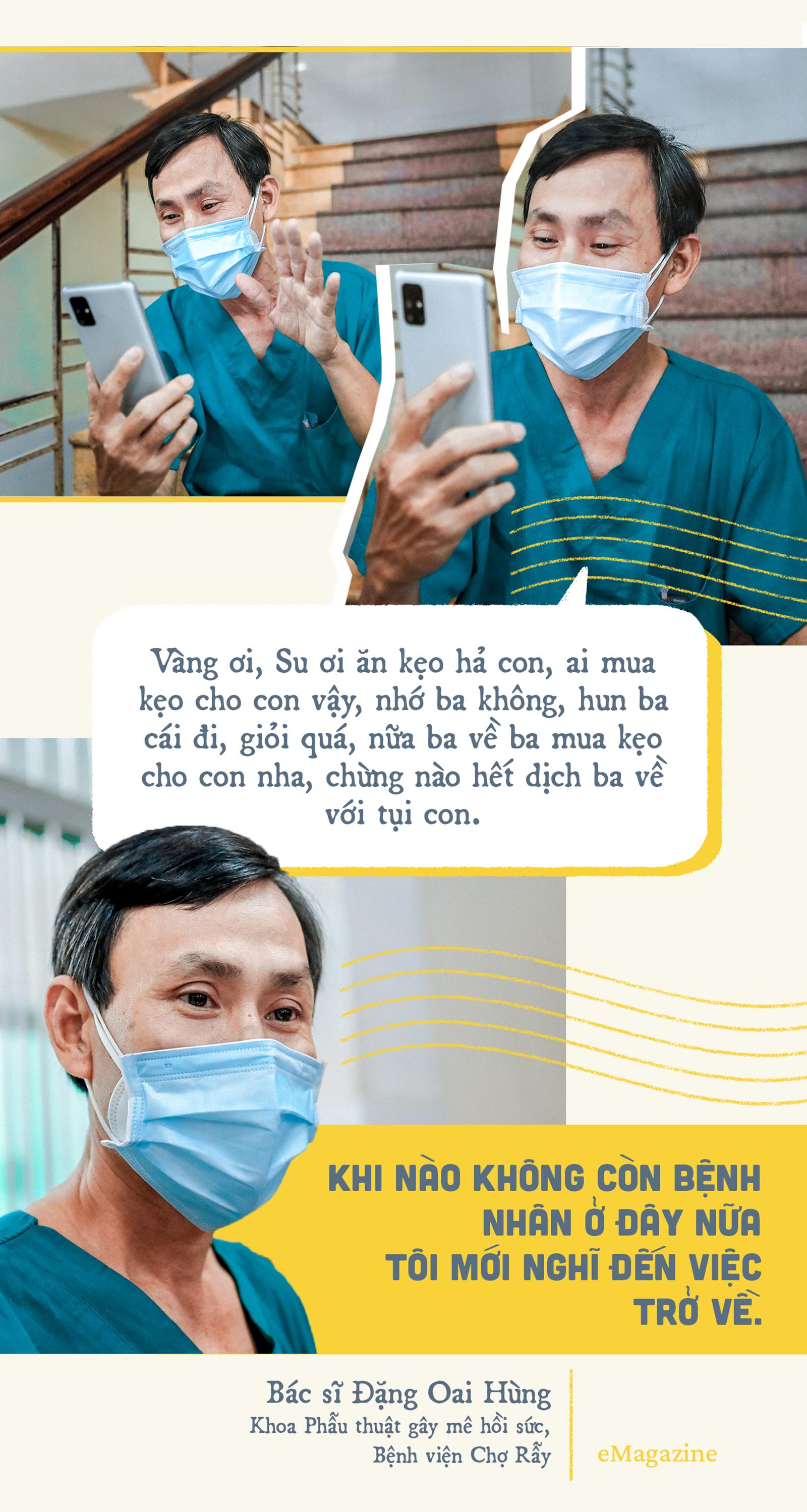 Chuyện Khu điều trị COVID-19: 'Con ở nhà ngoan, ba mẹ đi bắt 'con COVID' rồi về - ảnh 5