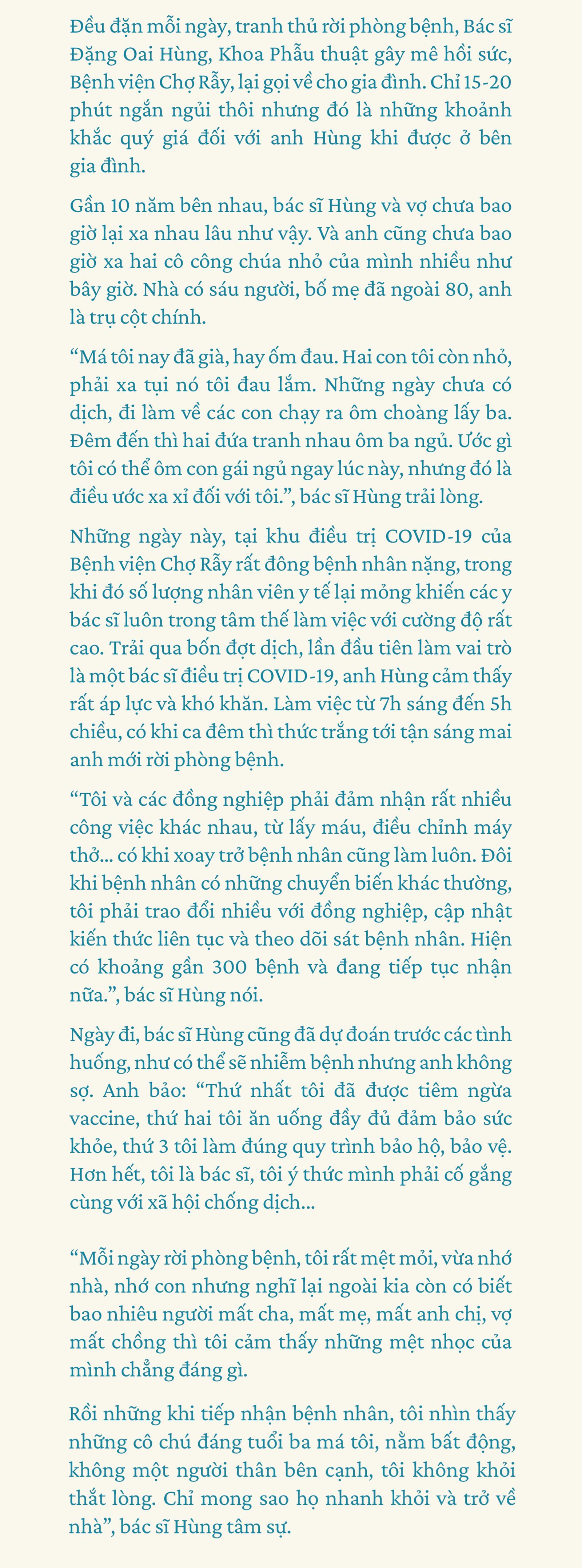 Chuyện Khu điều trị COVID-19: 'Con ở nhà ngoan, ba mẹ đi bắt 'con COVID' rồi về - ảnh 6