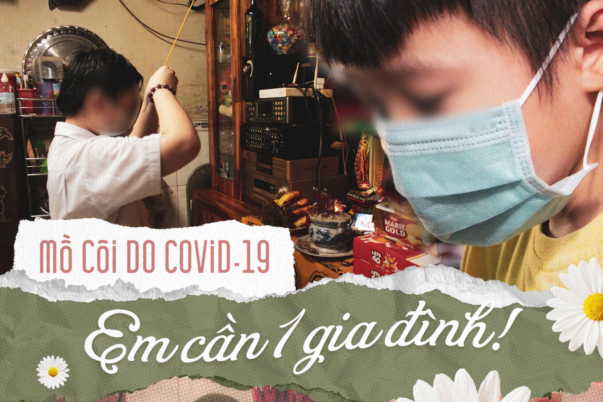 Mồ côi do COVID-19: Em cần 1 gia đình!