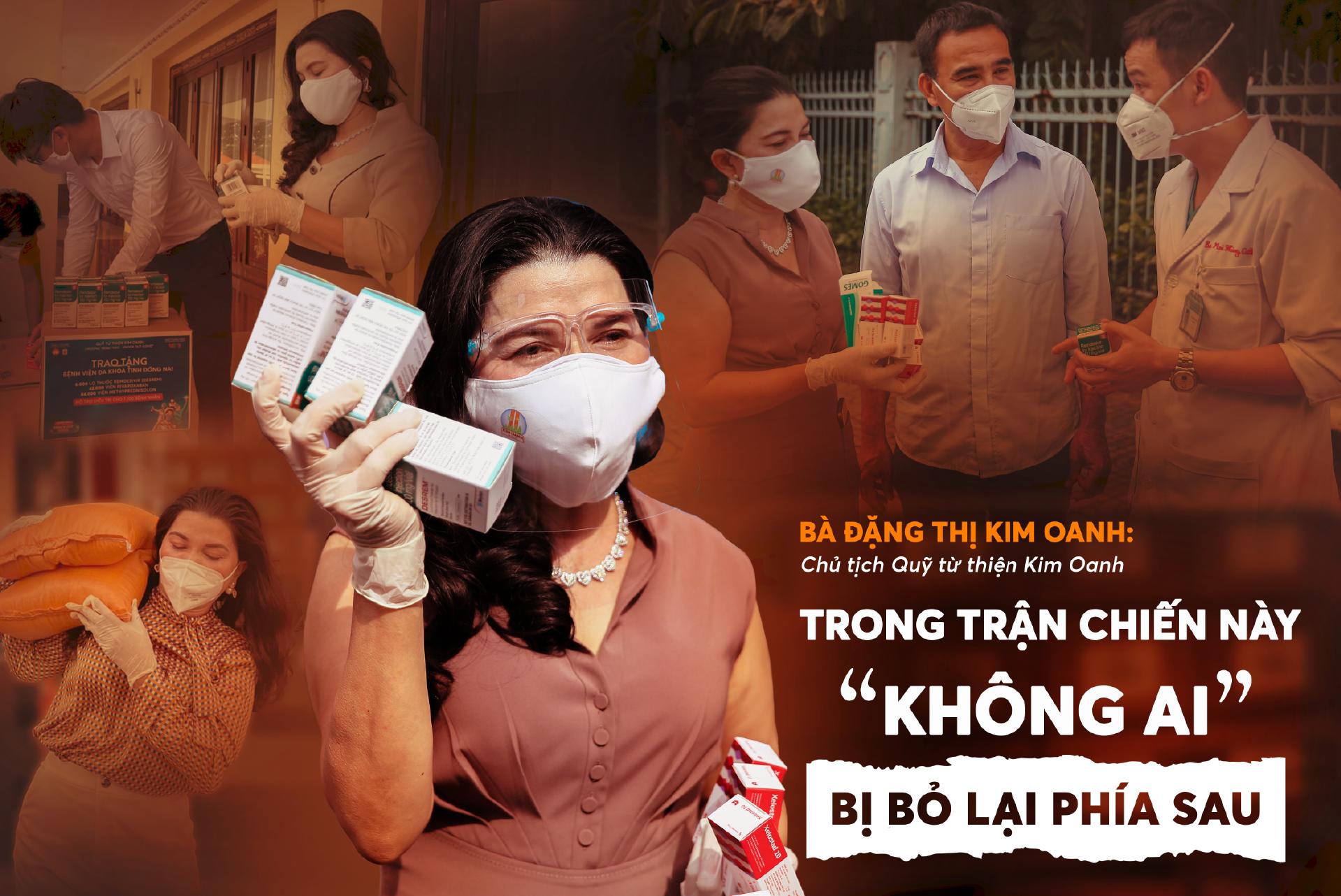 Quỹ từ thiện Kim Oanh trong cuộc chiến phòng, chống COVID-19