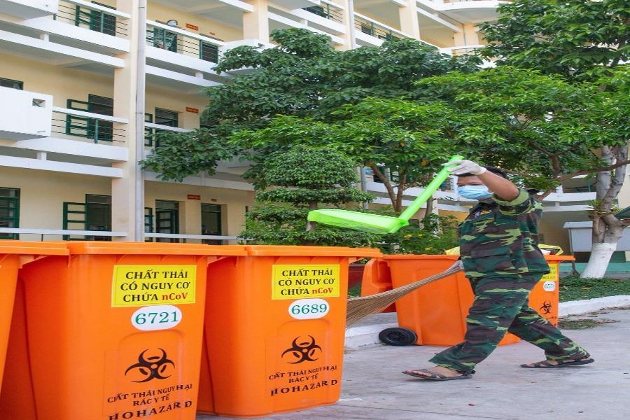 Sở TN&MT nói về xử lý rác thải ở các các khu cách ly của TP.HCM