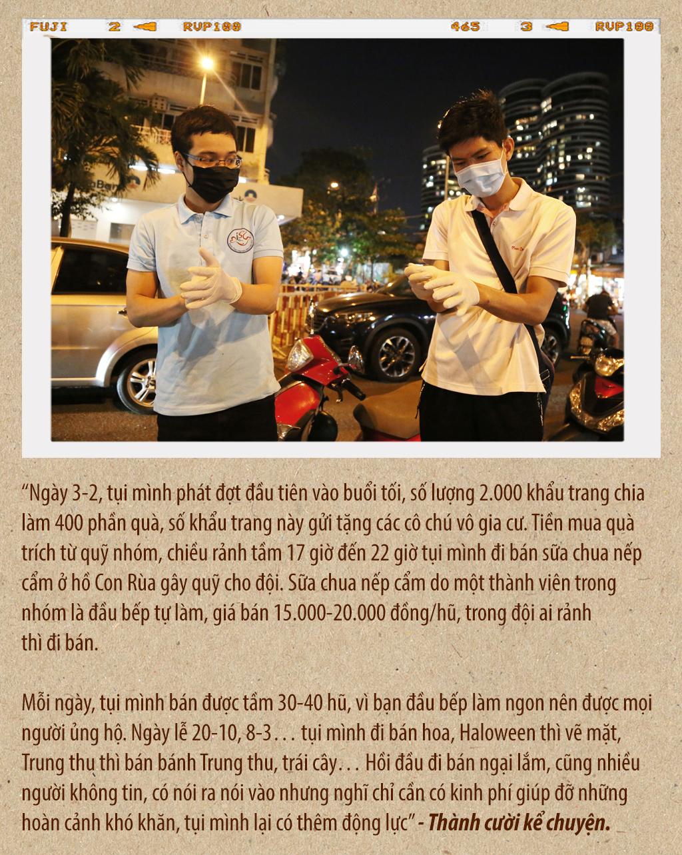 Tình người Sài Gòn thời dịch COVID-19 - ảnh 3