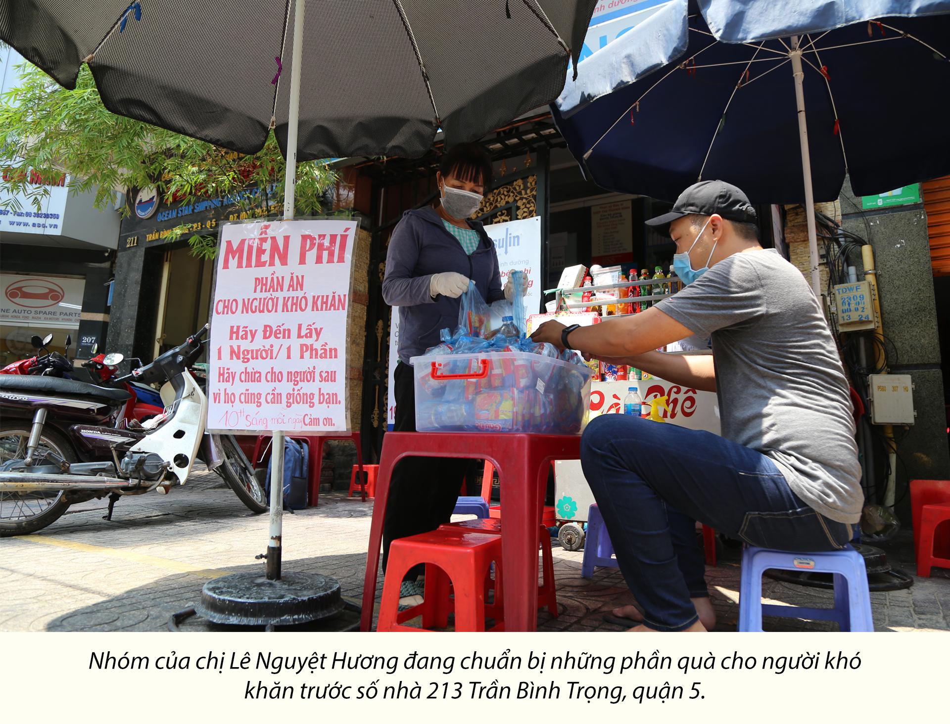 Người Sài Gòn dìu nhau qua đại dịch - ảnh 2