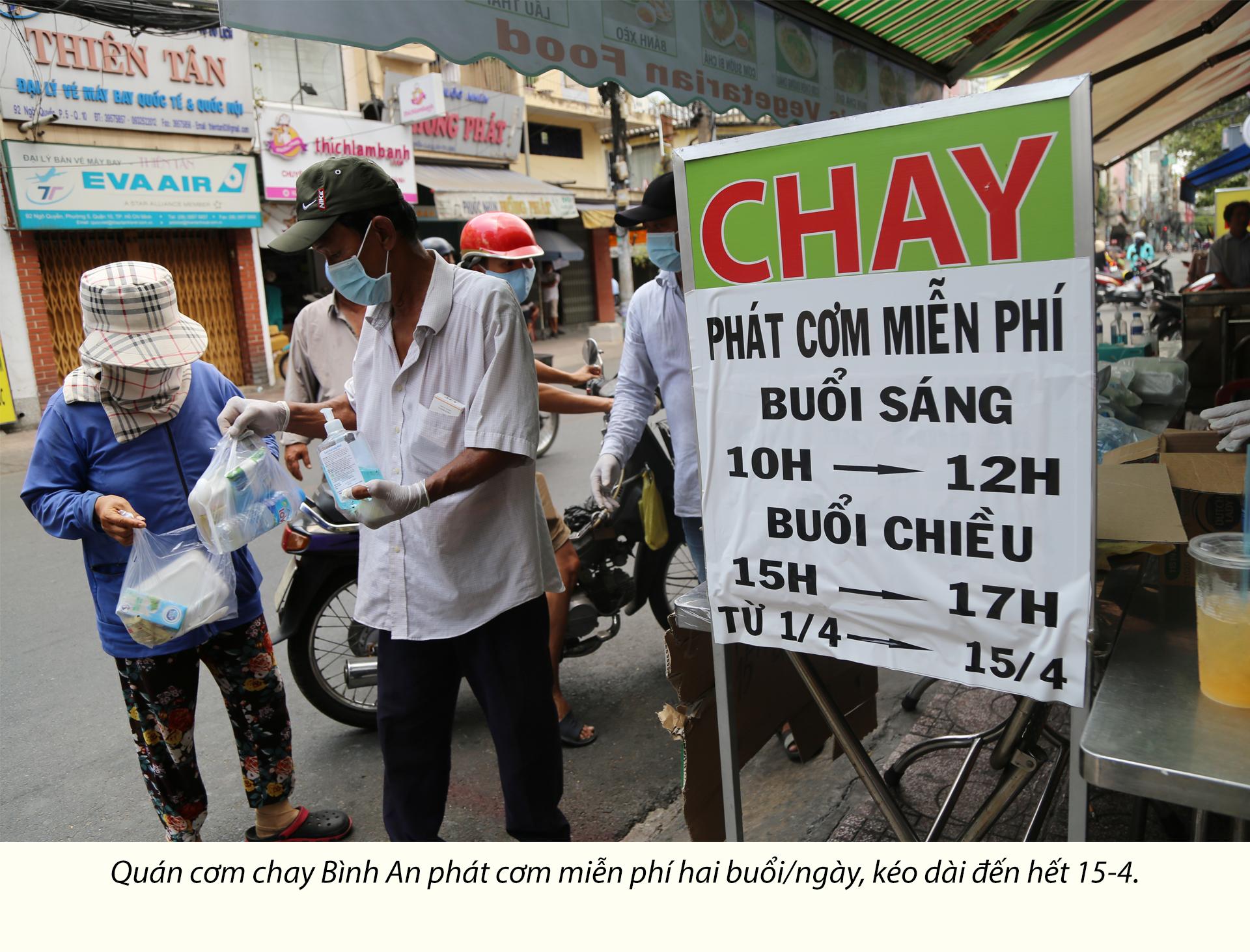 Người Sài Gòn dìu nhau qua đại dịch - ảnh 6
