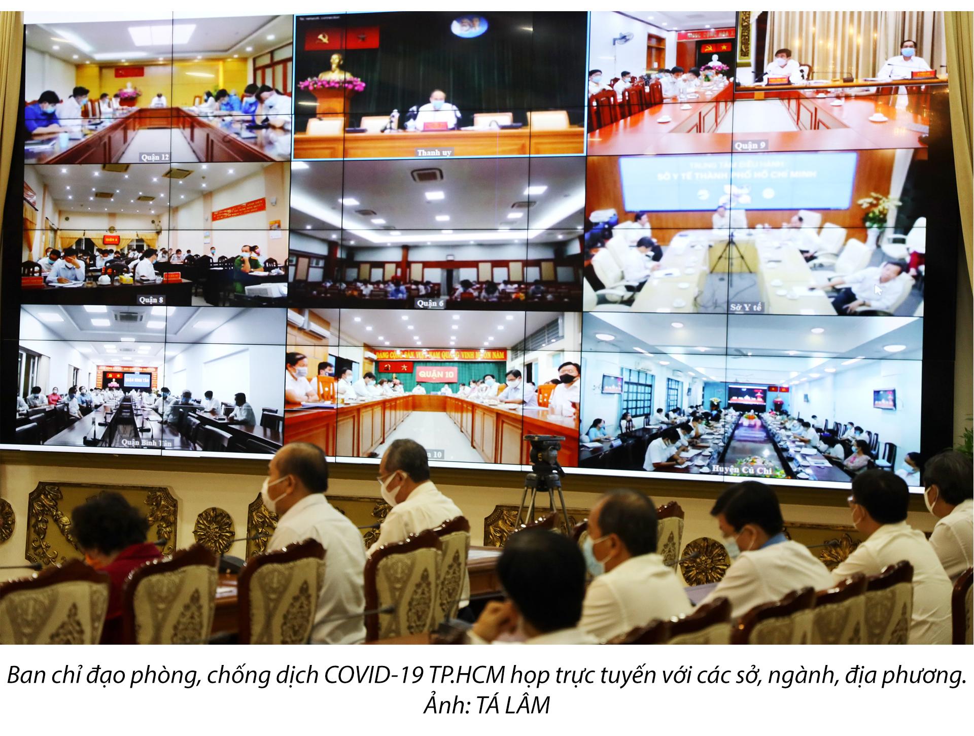 5 nỗ lực lớn của TP.HCM trong phòng, chống COVID-19 - ảnh 11