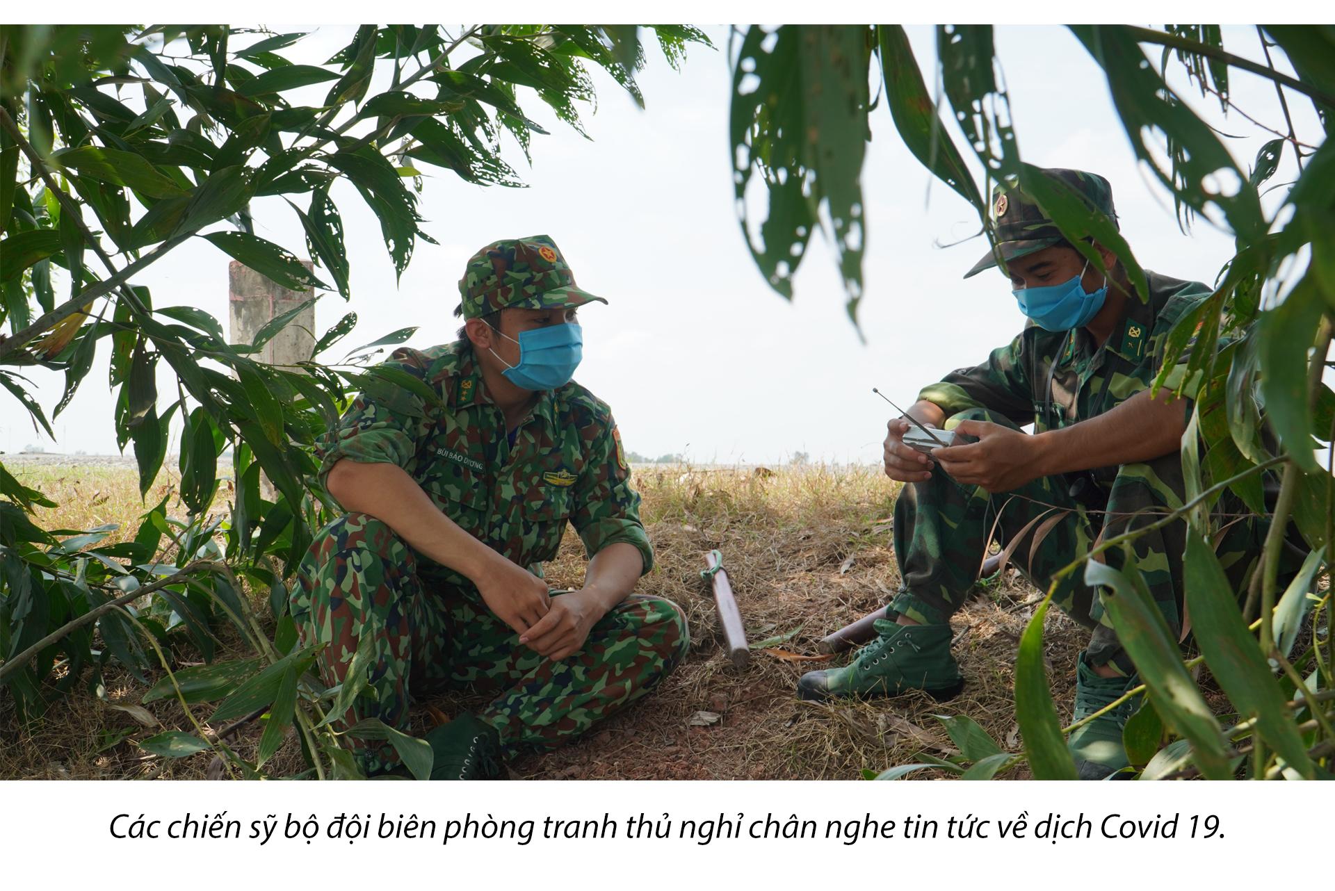 Tâm sự của chiến sĩ biên giới Tây Nam những ngày chống dịch - ảnh 10